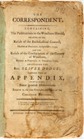 Books:Religion & Theology, Swift, Zephaniah: THE CORRESPONDENT. : CONTAINING THE PUBLICATIONS IN THE WINDHAM HERALD, RELATIVE TO THE RESULT OF THE ...