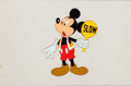 Animation Art:Production Cel, Mickey Mouse TV Commercial Production Cel Animation Art (WaltDisney, 1990s)....