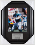 Football Collectibles:Photos, Dan Marino Signed Photograph Display. ...