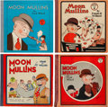 Platinum Age (1897-1937):Miscellaneous, Moon Mullins Series #4-7 Group (Cupples & Leon, 1930-33).... (Total: 4 Comic Books)