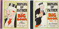 Platinum Age (1897-1937):Miscellaneous, Bringing Up Father Big Book #1 and 2 Group (Cupples & Leon,1926-29).... (Total: 2 Comic Books)