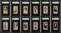 "Non-Sport Cards:Sets, 1930's Lloyd & Sons ""Cinema Stars"" Series One and Two SGCGraded Collection (34) With Series 2 Complete Set. ..."