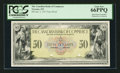 Canadian Currency: , Toronto, ON- The Canadian Bank of Commerce $50 Jan. 2, 1917 Ch. #75-16-02-10P Face Proof. ...