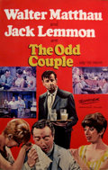 Mainstream Illustration, JOHN J. LOMASNEY (Irish, 1899-1989). The Odd Couple, 1968.Gouache on artboard. 44 x 28 in.. Benefiting Lifebeat. ...