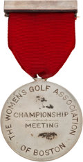 Golf Collectibles:Miscellaneous, 1909 Oakley Country Club Silver Medal....