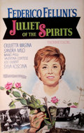 Mainstream Illustration, Lomasney, John J. (1899-1989). Juliet of the Spirits (Giuliettadegli spiriti, 1965. Mixed media on artboard. 44 x 28 in...