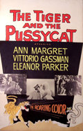 Mainstream Illustration, Lomasney, John J. (1899-1989). The Tiger and the Pussycat,1967. 44 x 28 in.. Benefiting Lifebeat. ...