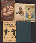 Boxing Collectibles:Memorabilia, 1888-1924 Vintage Boxing Books & Pamphlets Lot of 5....
