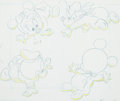 Animation Art:Production Drawing, Baby Mickey Mouse and Friends TV Commercial Production DrawingAnimation Art (Walt Disney, 1990s)....