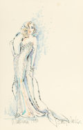 Pin-up and Glamour Art, BOB MACKIE (American, b. 1940). Madonna, 1991. Mixed mediaon paper. 21 x 13.25 in. (sight). Signed, titled and dated al...