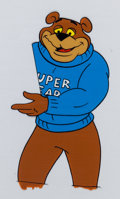 Animation Art:Production Cel, Super Sugar Crisp Cereal Super Bear TV Commercial ProductionCel and Drawing Animation Art Group (c. 1990s).... (Total: 21Original Art)