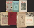 Boxing Collectibles:Memorabilia, Vintage Boxing Books and Booklets Lot of 7....