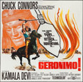 "Movie Posters:Western, Geronimo (United Artists, 1962). Six Sheet (79"" X 80""). Western.. ..."