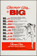 "Movie Posters:Comedy, Georgy Girl & Others Lot (Columbia, 1966). One Sheets (3) (27"" X 41"") Style B & Regular. Comedy.. ... (Total: 3 Items)"