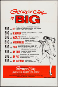 "Georgy Girl & Others Lot (Columbia, 1966). One Sheets (3) (27"" X 41"") Style B & Regular. Comedy. ... (..."