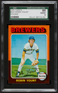 Baseball Cards:Singles (1970-Now), 1975 Topps Robin Yount #223 SGC 88 NM/MT 8....