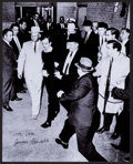 Autographs:Others, James Leavelle Signed Photograph (Handcuffed To Lee HarveyOswald)....