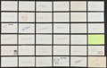 Autographs:Index Cards, Baseball Greats Signed Index Cards Lot Of 35+...