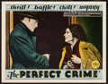 "Movie Posters:Crime, The Perfect Crime (FBO, 1928). Lobby Card (11"" X 14""). Crime.. ..."