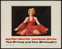 """The Prince and the Showgirl (Warner Brothers, 1957). Lobby Card (11"""" X 14""""). Romance"""