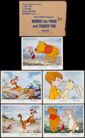 """Movie Posters:Animation, Winnie the Pooh and Tigger Too! (Buena Vista, 1974). Mini Lobby Card Set of 5 (8"""" X 10""""). Animation.. ... (Total: 5 Items)"""