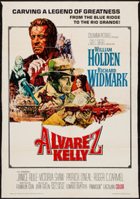 "Alvarez Kelly & Other Lot (Columbia, 1966). Trimmed Poster (27.75"" X 40"") & One Sheet (27""..."