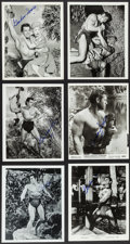 "Movie Posters:Adventure, Gordon Scott as Tarzan & Other Lot (Various, 1950s-1960s).Autographed Photos, Reprint Photos (11) (8"" X 10"") & TrimmedPhot... (Total: 12 Items)"