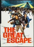 """Movie Posters:War, The Great Escape (United Artists, 1963). Promotional Foldout Poster(17"""" X 23.75"""") DS. War.. ..."""