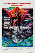 """Movie Posters:James Bond, The Spy Who Loved Me (United Artists, 1977). One Sheet (27"""" X 41"""") & Program (9"""" X 23.25"""" Unfolded) DS. James Bond.. ... (Total: 2 Items)"""