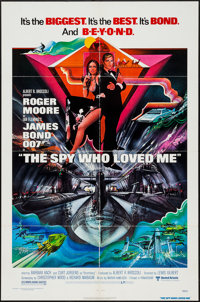 """The Spy Who Loved Me (United Artists, 1977). One Sheet (27"""" X 41"""") & Program (9"""" X 23.25"""" Un..."""