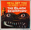 "Movie Posters:Science Fiction, The Black Scorpion (Warner Brothers, 1957). Six Sheet (78"" X 80"").Science Fiction.. ..."