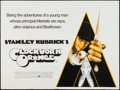 "Movie Posters:Science Fiction, A Clockwork Orange (Warner Brothers, 1971). British Quad (30"" X 40""). Science Fiction.. ..."
