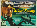 "Movie Posters:War, The Silent Enemy (Independent Film Distributors, 1958). BritishQuad (30"" X 40""). War.. ..."