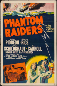 "Phantom Raiders (MGM, 1940). One Sheet (27"" X 41""). Crime"
