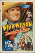 "Movie Posters:Adventure, Crashing Thru & Other Lot (Monogram, 1949). One Sheets (2) (27""X 41""). Adventure.. ... (Total: 2 Items)"