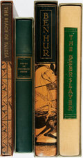 Books:Fine Press & Book Arts, [Literature, Heritage Press]. Group of Four Volumes. Includes:Robert Louis Stevenson. The Beach of Falesá. ...(Total: 4 Items)