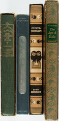 Books:Fine Press & Book Arts, [Literature, Heritage Press]. Group of Four Volumes. Includes:Henry Adams. Mont-Saint-Michel and Chartres. [... (Total:4 Items)