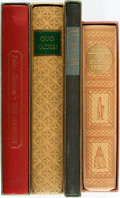 Books:Fine Press & Book Arts, [Literature, Heritage Press]. Group of Four Volumes. Includes:Charles Dickens. Our Mutual Friend. [1957]. Illus... (Total:4 Items)