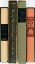 Books:Fine Press & Book Arts, [Literature, Heritage Press]. Group of Four Volumes. Includes:Jonathan Swift. Gulliver's Travels. [1940]. Illus... (Total:4 Items)