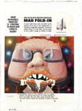 "Original Comic Art:Splash Pages, Al Jaffee - Mad #246 Fold-In Back Cover Original Art (EC, 1984). AlJaffee's fold-in asks ""What insatiable monster is starti... (Total:5 Items)"