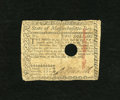 Colonial Notes:Massachusetts, Massachusetts May 5, 1780 $2 Very Good, HOC. Pre-printing papercrinkles are found on this hole cancelled note with an appro...