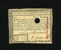 Colonial Notes:Massachusetts, Massachusetts May 5, 1780 $3 Choice New. Fully signed and endorsedwith a much smaller than usual cancellation which does no...
