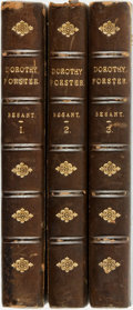 Books:Literature Pre-1900, Walter Besant. Dorothy Foster. London: Chatto and Windus,1884. First edition. Three octavo volumes. Contemporary h...(Total: 3 Items)