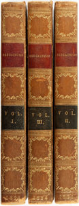 Books:Literature Pre-1900, Sir Walter Scott. Redgauntlet. Edinburgh: ArchibaldConstable and Co., 1824. First edition. Three octavo volumes. Co...(Total: 3 Items)