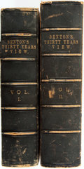 Books:Americana & American History, Benton, Thomas H. [1782-1858], Senator [1820-1850]. THIRTYYEARS' VIEW; OR, A HISTORY OF THE WORKING OF THE AMERICAN GOV...(Total: 2 Items)