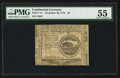 Colonial Notes:Continental Congress Issues, Continental Currency November 29, 1775 $4 PMG About Uncirculated55.. ...