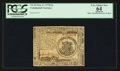 Colonial Notes:Continental Congress Issues, Continental Currency February 17, 1776 $1 PCGS Apparent Very Choice New 64.. ...