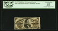 Fractional Currency:Third Issue, Fr. 1297 25¢ Third Issue PCGS Apparent Extremely Fine 45.. ...