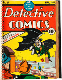 Detective Comics #25-48 Bound Volumes Group of 2 (DC, 1939-41).... (Total: 2 Comic Books)