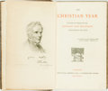 Books:Religion & Theology, [Abby Keble]. The Christian Year. Thoughts in Verse for the Sundays and Holidays throughout the Year. London: Kegan ...